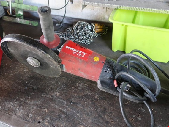 Used Hilti DC 230-S angle grinder (Later release end of October 2019) for Sale (Auction Premium)