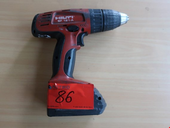 Used Hilti SF 121-A bzw. TE 2 A 2 cordless screwdrivers for Sale (Auction Premium) | NetBid Industrial Auctions