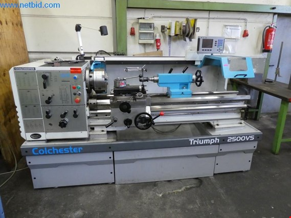 Used Colchester Triumpf 2500 VS sliding and screw cutting lathe for Sale (Trading Premium) | NetBid Slovenija