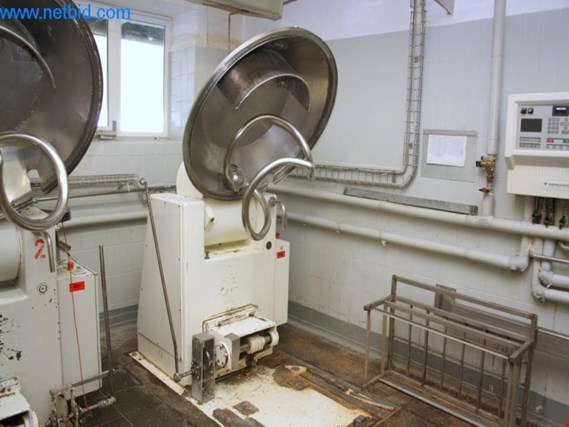 Used Ibis V250 2B080 Spiralkneter for Sale (Auction Premium) | NetBid Industrial Auctions