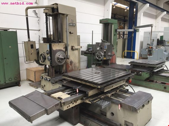 Union BFT 90/3 CNC HORIZONTAL BORING MILL (Auction Premium) | NetBid ?eská republika