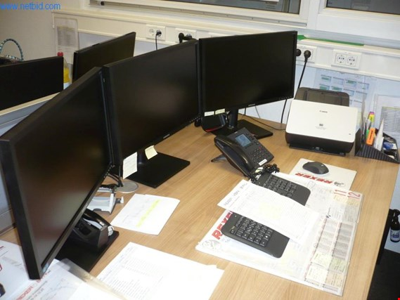"Used 3 24"" widescreen monitors for Sale (Auction Premium) 