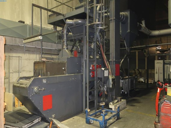 Used Rösler RDGE 800/8 wire mesh continuous blasting machine for Sale (Trading Premium) | NetBid Slovenija