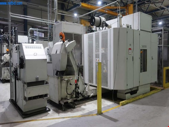 EMAG BAW06-22 horizontal double spindle machining center - Surcharge under reserve (Online Auction) | NetBid ?eská republika