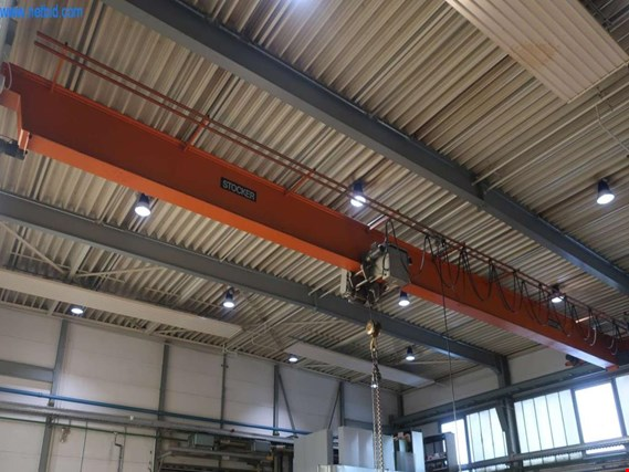 Used Stocker single-girder overhead crane for Sale (Trading Premium) | NetBid Industrial Auctions