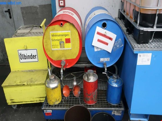 Used collecting pan f. hazardous materials for Sale (Trading Premium) | NetBid Industrial Auctions