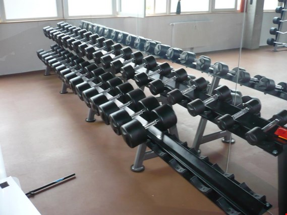 well-maintained fitness equipment