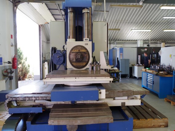 used horizontal milling machine, SCHARMANN, Opticut FB