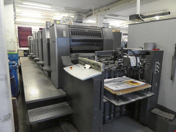 machines of the area offset printing and 4/5 colour printing machines Heidelberg