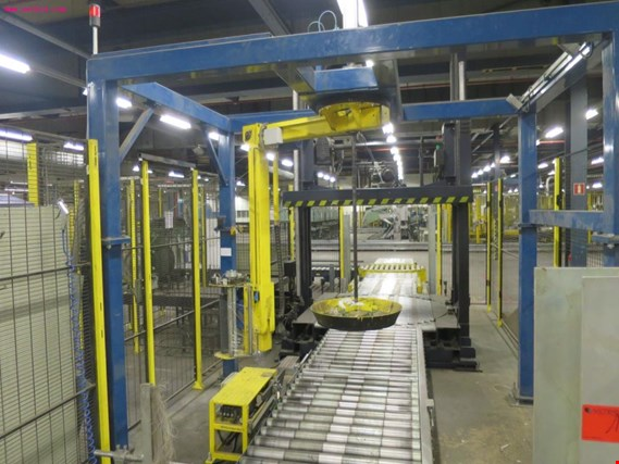 Used Mosca KPT 121 pallet strapping system for Sale (Auction Premium) | NetBid Slovenija