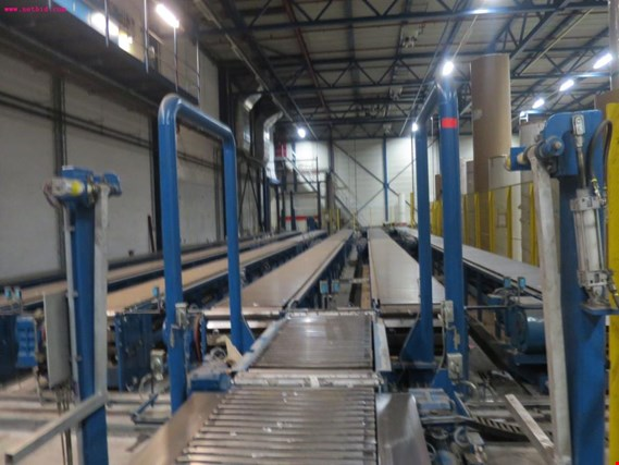 Voith Sulzer paper reel conveyor and distribution plant - Price on request (Online Auction) | NetBid ?eská republika