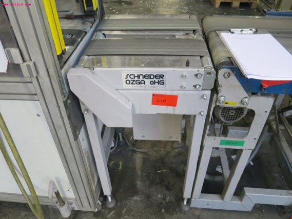 Schneider FO1-500  conveyor belt - Sale under reserve de ocasión (Auction Premium)