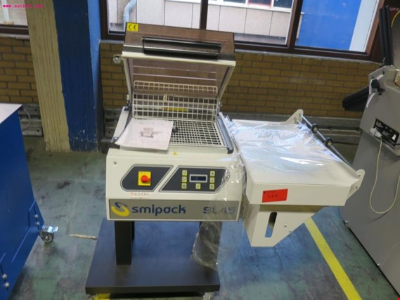 Smipack SL 45 film wrapping and sealing machine  (Auction Premium)
