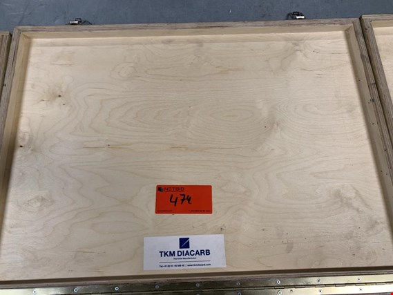 Used TKM Diacarb 3 cutter sets for Sale (Auction Premium) | NetBid Industrial Auctions
