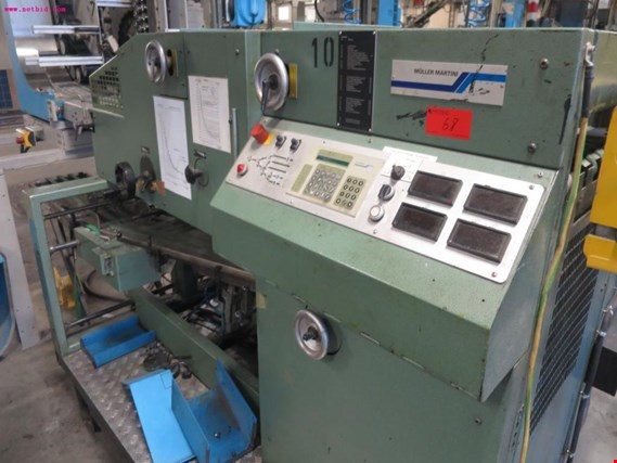 Used Müller Martini 03500430 turning and distribution station for Sale (Auction Premium) | NetBid Industrial Auctions