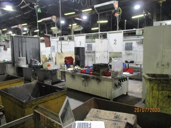 Used 2 Post-processing islands for Sale (Auction Premium) | NetBid Industrial Auctions