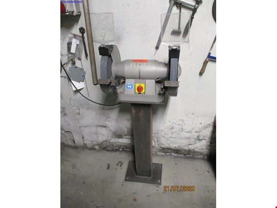 Used Flott 300 SDP Double bench grinder for Sale (Trading Premium) | NetBid Industrial Auctions