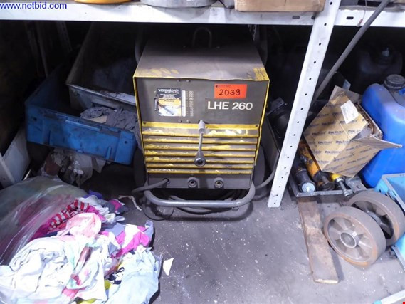 Used ESAB LHE 260 welding equipment for Sale (Trading Premium) | NetBid Slovenija