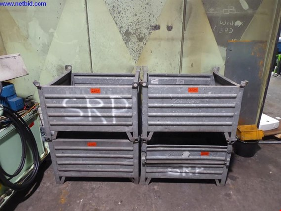 Used Schäfer 4 Stahlbehälter for Sale (Auction Premium) | NetBid Industrial Auctions