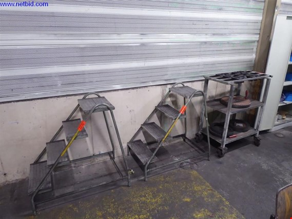 Used 2 System trolley for HSK100 receptacles for Sale (Auction Premium) | NetBid Slovenija
