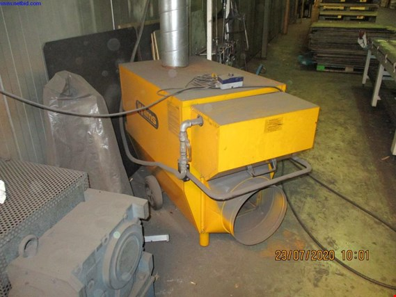 Wilms BV-155 mobile hall heating (Online Auction) | NetBid España