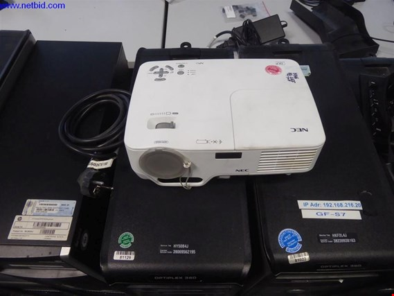 Used NEC NP61G DLP-Projektor for Sale (Auction Premium) | NetBid Industrial Auctions