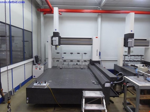 Used Zeiss Accura II 16/24/10 3D Coordinate Measuring Machine for Sale (Trading Premium) | NetBid Slovenija