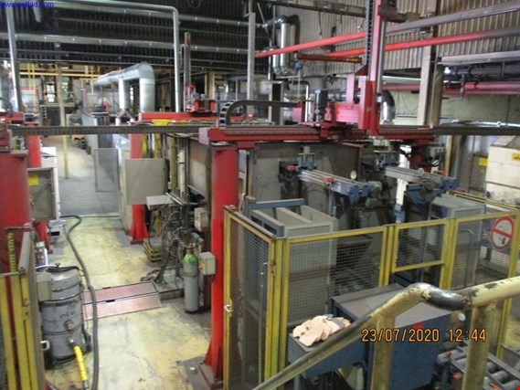 Used Widmer + Ernst Continuous powder coating line for Sale (Auction Premium) | NetBid Industrial Auctions