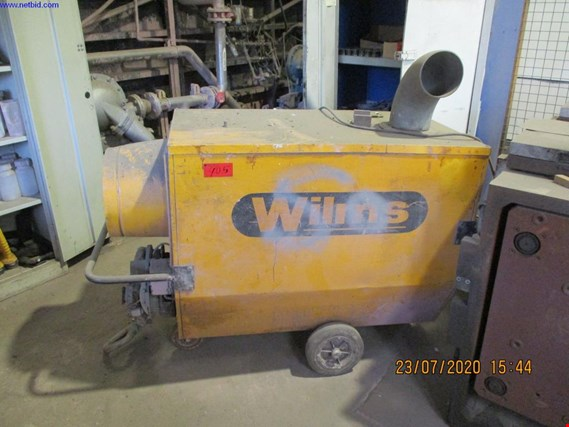 Used Wilms BV 260, 230V mobile gas hall heating for Sale (Trading Premium) | NetBid Slovenija