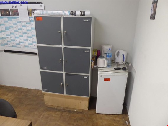 Used 6 Lockers for Sale (Trading Premium) | NetBid Slovenija