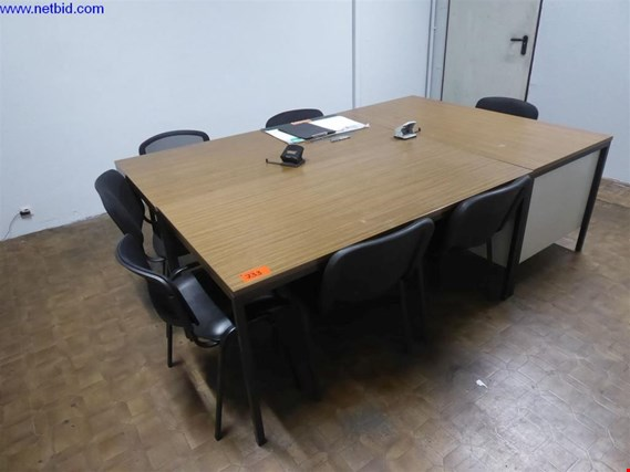 Used 3 Meeting tables for Sale (Trading Premium) | NetBid Slovenija