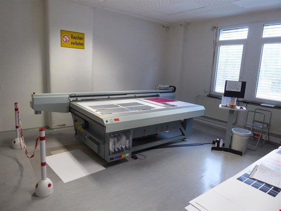 Used OCE Arizona 350 GT UV-Flachbettdrucker for Sale (Trading Premium) | NetBid Industrial Auctions