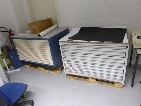 Used 5 Planablageschränke for Sale (Auction Premium) | NetBid Industrial Auctions
