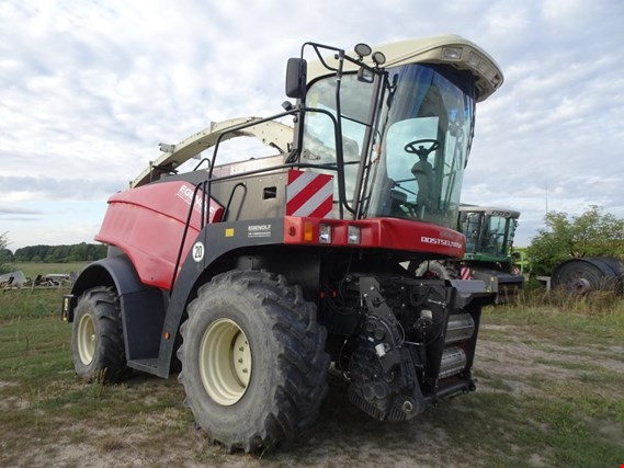 Well-maintained agricultural machinery