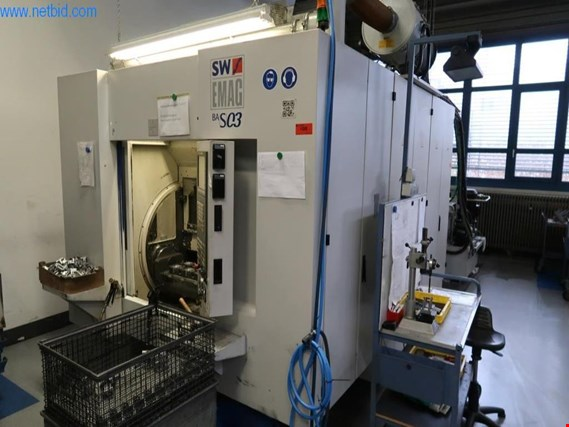 SW Emag BAS03 vertical CNC milling centre - knockdown subject to reservation (Auction Premium) | NetBid España