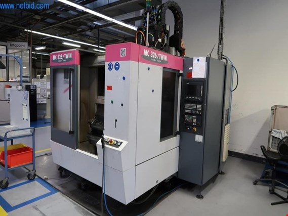 Used Stama MC326/Twin CNC Machining Center Room for Sale (Trading Premium) | NetBid Slovenija