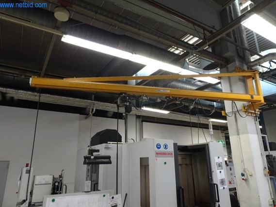 Used Demag Wall-mounted slewing crane for Sale (Auction Premium) | NetBid Industrial Auctions
