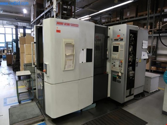 Mori Seiki NHX4000 horizontal CNC 3-axis machining center (4) (Auction Premium) | NetBid España