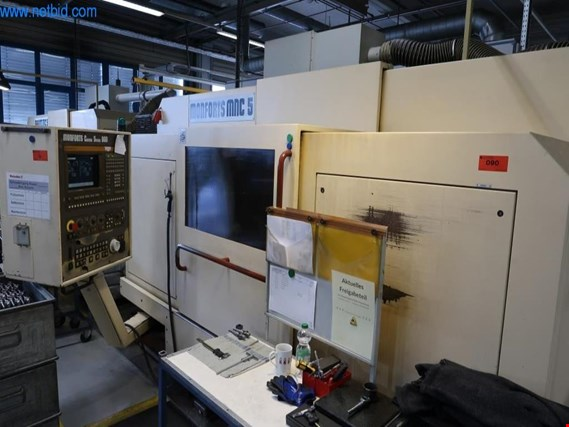 Used Monforts MNC5 CNC lathe (7) for Sale (Trading Premium) | NetBid Industrial Auctions
