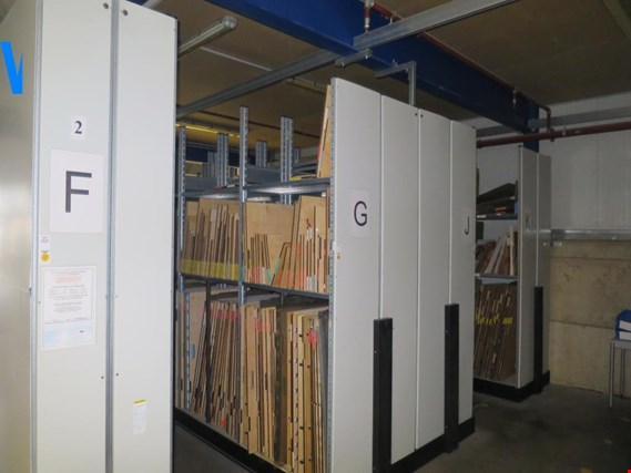 Used Schäfer 1 Posten metal shelves for Sale (Trading Premium) | NetBid Industrial Auctions