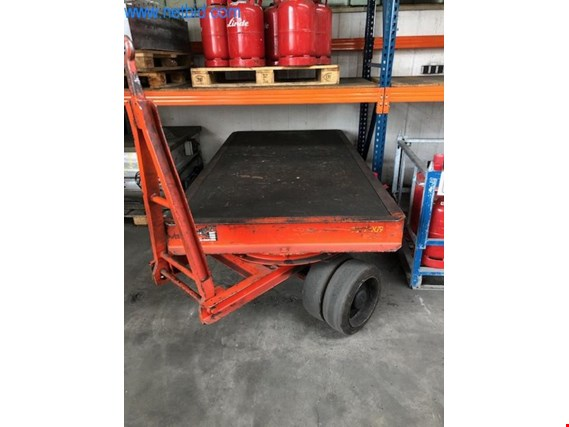 Used Plan Heavy-duty platform trailer for Sale (Auction Premium) | NetBid Industrial Auctions