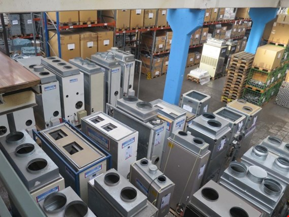 Devices for air conditioning, heating and cooling, workshop and storage facilities