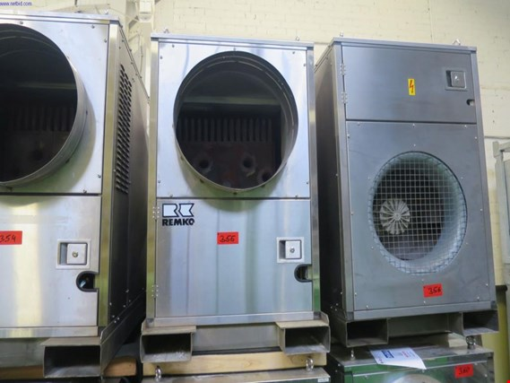 Used Remko HTL200 mobile Warmlufterzeuger for Sale (Auction Premium) | NetBid Industrial Auctions