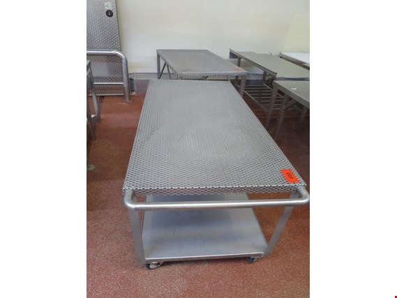 Used 2 Stainless steel storage trolley for Sale (Auction Premium) | NetBid Industrial Auctions