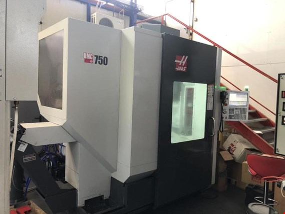 5 axis CNC machining center, HAAS, UMC-7501