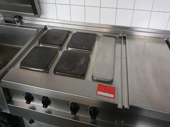 Used MKN Electric 4-plate stove for Sale (Auction Premium) | NetBid Industrial Auctions