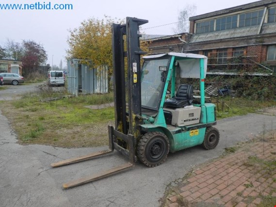Mitsubishi FD 20 Diesel forklift truck (later release) (Auction Premium) | NetBid ?eská republika