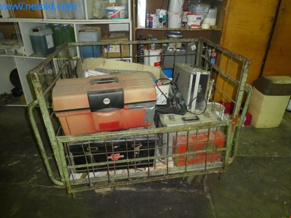 1 Posten Hand machines/small tools/tool cases (Auction Premium) | NetBid ?eská republika