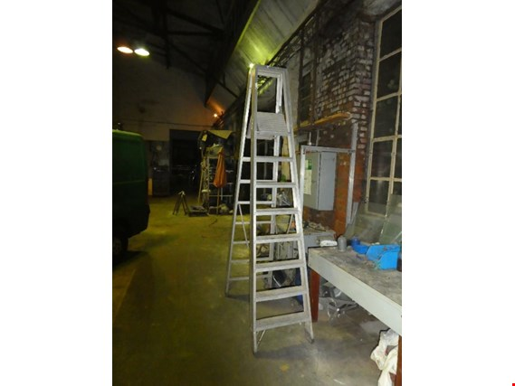 Aluminium stepladder (Auction Premium) | NetBid ?eská republika