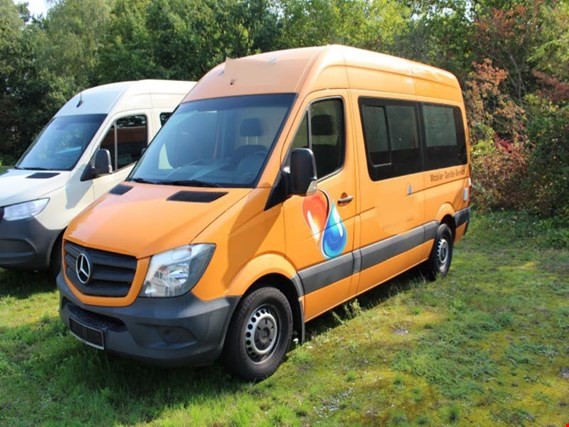 Used Mercedes-Benz Sprinter 313 CDI Euro 5 Transporter for Sale (Trading Premium) | NetBid Industrial Auctions
